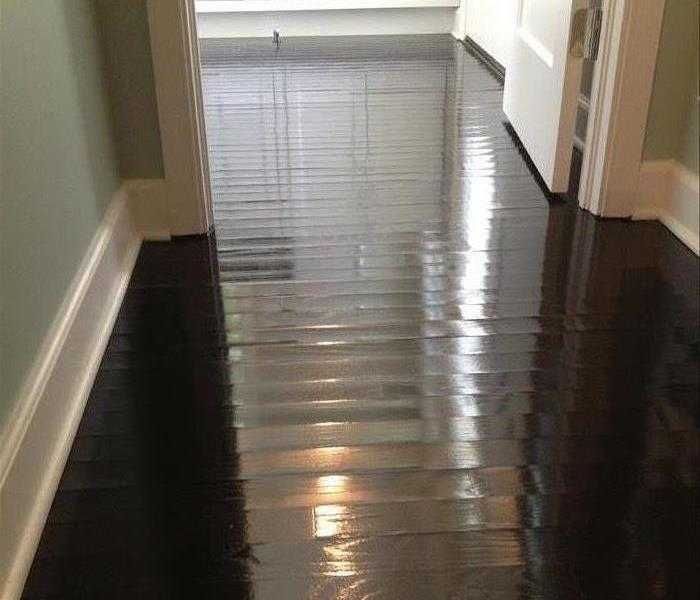 After Cleaning Wood Floors