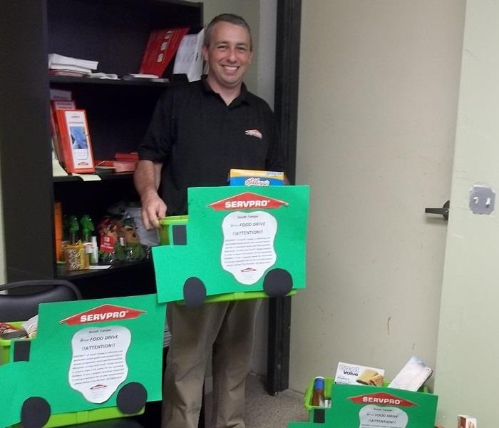 SERVPRO of South Tampa owner giving back to the community
